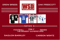 "WSD ""The Biggest Superstars"" Mystery Box - Autographed Football and Baseball Jersey Series 3 at PristineAuction.com"