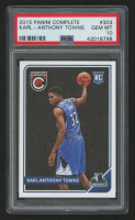 2015-16 Panini Complete #303 Karl-Anthony Towns RC (PSA 10) at PristineAuction.com