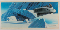 """Ralph McQuarrie Signed """"Star Wars: The Empire Strikes Back"""" 9.75x20 Print (PA LOA) at PristineAuction.com"""