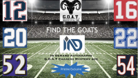 GOAT Chaser Football Jersey Mystery Box at PristineAuction.com