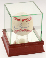 Frank Robinson & Harmon Killebrew Signed OAL Baseball with High Quality Display Case(PSA COA) at PristineAuction.com