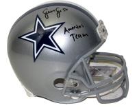 "Sean Lee Signed Cowboys Full-Size Helmet Inscribed ""America's Team"" (JSA COA) at PristineAuction.com"