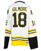 "Adam Sandler Signed ""Happy Gilmore"" CCM Boston Bruins Jersey (JSA COA) at PristineAuction.com"