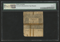1776 1s. One Shilling Connecticut Colonial Currency Note - June 7th, 1776 (PMG 10) at PristineAuction.com
