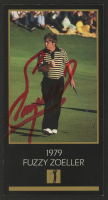 Fuzzy Zoeller Signed 1997-98 Grand Slam Ventures Masters Collection #1979 (JSA COA) at PristineAuction.com