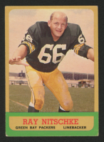 1963 Topps #96 Ray Nitschke RC at PristineAuction.com