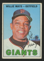 1967 Topps #200 Willie Mays at PristineAuction.com
