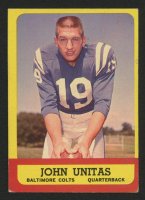 1963 Topps #1 Johnny Unitas at PristineAuction.com