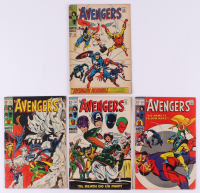 "Consecutive Lot of (4) 1968-69 ""The Avengers"" Marvel Comic Books with #58-#61 at PristineAuction.com"