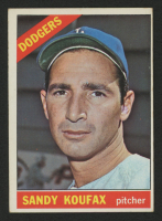 1966 Topps #100 Sandy Koufax at PristineAuction.com