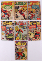 "Lot of (7) 1959-68 ""Tales to Astonish"" Marvel Comic Books at PristineAuction.com"