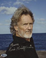 """Kris Kristofferson Signed 8x10 Photo Inscribed """"Peace"""" (Beckett COA) at PristineAuction.com"""