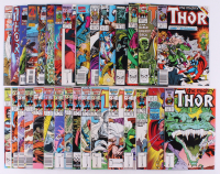 "Lot of (31) 1986-96 ""The Mighty ThorThor"" #363-#502 Marvel Comic Books at PristineAuction.com"