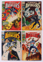 "Consecutive Lot of (4) 1969 ""The Avengers"" Marvel Comic Books with #62-#65 at PristineAuction.com"