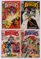 "Lot of (4) 1969 ""The Avengers"" Marvel Comic Books at PristineAuction.com"