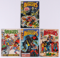 "Consecutive Lot of (4) 1969 ""The Avengers"" Marvel Comic Books with #67-#70 at PristineAuction.com"