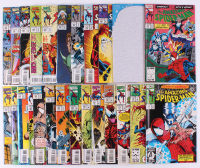 "Lot of (25) 1993-95 ""The Amazing Spider-Man"" #376-400 Marvel Comic Books at PristineAuction.com"