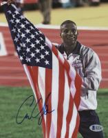 Carl Lewis Signed Team USA 8x10 Photo (Beckett COA) at PristineAuction.com
