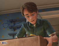 """John Morris Signed """"Toy Story 3"""" 8x10 Photo Inscribed """"Andy"""" (Beckett COA) at PristineAuction.com"""