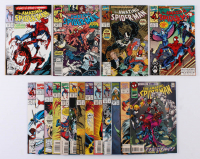 "Lot of (17) 1990-96 ""The Amazing Spider-Man"" #331-409 Marvel Comic Books at PristineAuction.com"