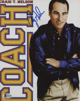 """Craig T. Nelson Signed """"Coach"""" 8x10 Photo (Beckett COA) at PristineAuction.com"""