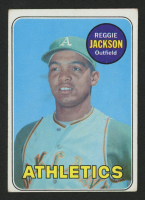 1969 Topps #260 Reggie Jackson RC at PristineAuction.com