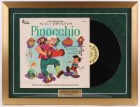 "Walt Disney's ""Pinocchio"" 18x24 Custom Framed Vinyl Record Album Display at PristineAuction.com"