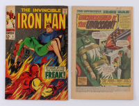 "Lot of (2) 1968 ""Iron Man"" 1st Series Issues #3 & #4 Marvel Comic Books at PristineAuction.com"