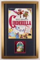 "Walt Disney's ""Cinderella"" 17x26 Custom Framed Film Reel Display at PristineAuction.com"