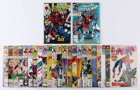 "Lot of (25) 1989-96 ""The Amazing Spider-Man"" #317-#412 Marvel Comic Books at PristineAuction.com"