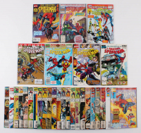 "Lot of (30) 1990-97 ""The Amazing Spider-Man"" #333-#425 Marvel Comic Books at PristineAuction.com"