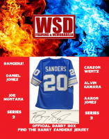 WSD Official Barry Box Football Jersey Mystery Box Series 2 (Find the Barry Sanders Jersey!) at PristineAuction.com