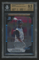 2005 Bowman Chrome Draft #63 Andrew McCutchen FY RC (BGS 9.5) at PristineAuction.com