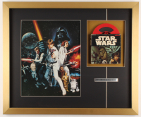 """Star Wars: A New Hope"" 20x24 Custom Framed Print Display with Movie Film at PristineAuction.com"