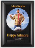 """Happy Gilmore"" 14.5x20.5 Custom Framed Movie Poster Display at PristineAuction.com"