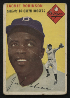 1954 Topps #10 Jackie Robinson at PristineAuction.com