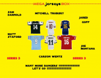 Mega Jersey Mystery Box - Autographed Jersey Series -3 (Many More Bangers!) at PristineAuction.com
