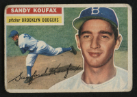 1956 Topps #79 Sandy Koufax at PristineAuction.com