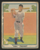 1941 Play Ball #16 Hal Trosky at PristineAuction.com