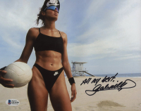 """Gabrielle Reece Signed 8x10 Photo Inscribed """"All My Best"""" (Beckett COA) at PristineAuction.com"""