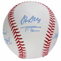 2019 Washington Nationals World Series Baseball Team-Signed by (12) with Howie Kendrick, Patrick Corbin, Max Scherzer, Dave Martinez, Juan Soto (Fanatics Hologram) at PristineAuction.com