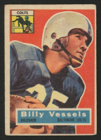 1956 Topps #120 Billy Vessels RC at PristineAuction.com