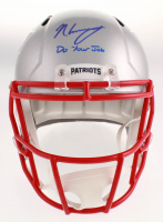 """N'Keal Harry Signed New England Patriots Full-Size Speed Helmet Inscribed """"Do Your Job"""" (JSA COA) at PristineAuction.com"""