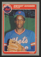 1985 Fleer #82 Dwight Gooden RC at PristineAuction.com