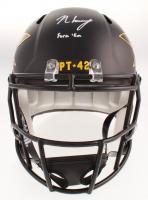 """N'Keal Harry Signed Arizona State Sun Devils Full-Size Speed Helmet Inscribed """"Fork 'Em"""" (JSA COA) at PristineAuction.com"""