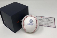 Max Scherzer Signed 2019 World Series Baseball (Fanatics Hologram) at PristineAuction.com