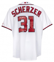 Max Scherzer Signed Washington Nationals Jersey (Fanatics Hologram) at PristineAuction.com