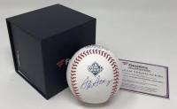 Stephen Strasburg Signed 2019 World Series Logo Baseball (Fanatics Hologram) at PristineAuction.com