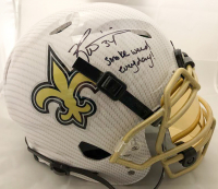 """Ricky Williams Signed New Orleans Saints Full-Size Authentic On-Field Hydro Dipped Vengeance Speed Helmet Inscribed """"Smoke Weed Everyday!"""" (JSA COA) at PristineAuction.com"""