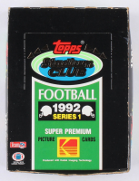 1992 Topps Stadium Club Series 1 Box of (540) Football Cards at PristineAuction.com